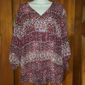 Dress barn blouse new with tags 1x